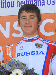 KAZANOV Evgeny (RUS) - The winner of the 3rd stage.