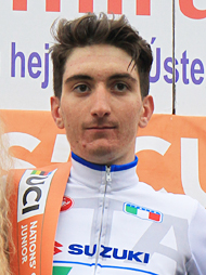 FERRARI Davide (ITA) - The winner of the 2nd B stage.