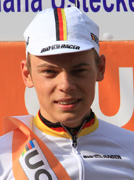 MAYRHOFER Marius (GER) - The winner of the 1st stage.