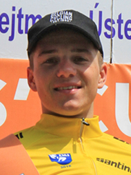 EVENEPOEL Remco (BEL) - The winner of the 2nd A stage.