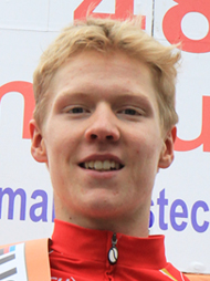 Andreas Byskov Sarbo (DEN) - The winner of the 4th stage.